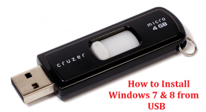 How to Install Windows 7 8 and 10 from USB