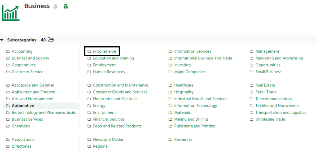 Dmoz Directory Sumbission