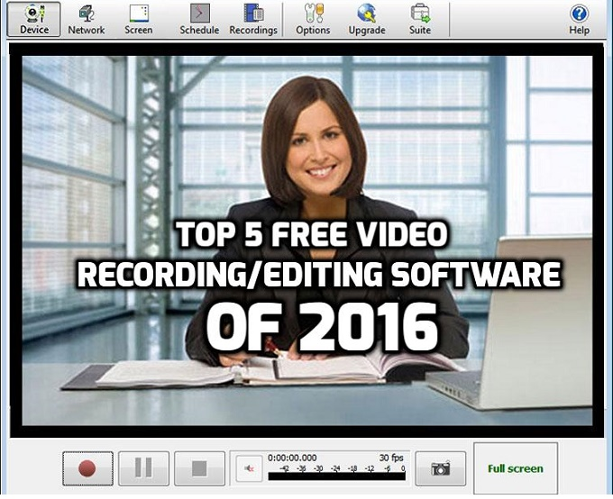 Top 5 Video Recording and Editing Software