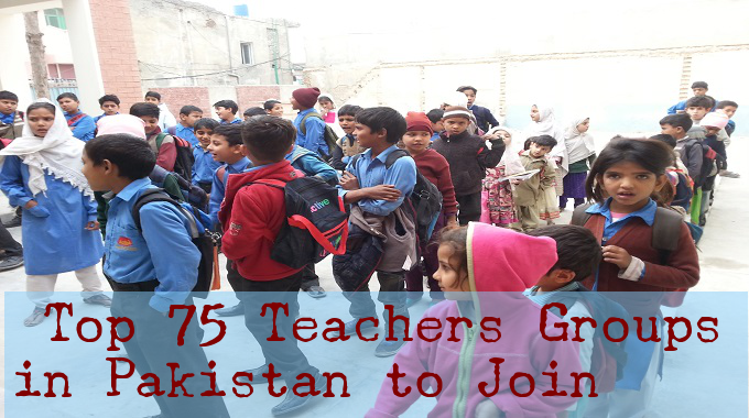 Top 100 Teachers and Educators Groups in Pakistan to Join