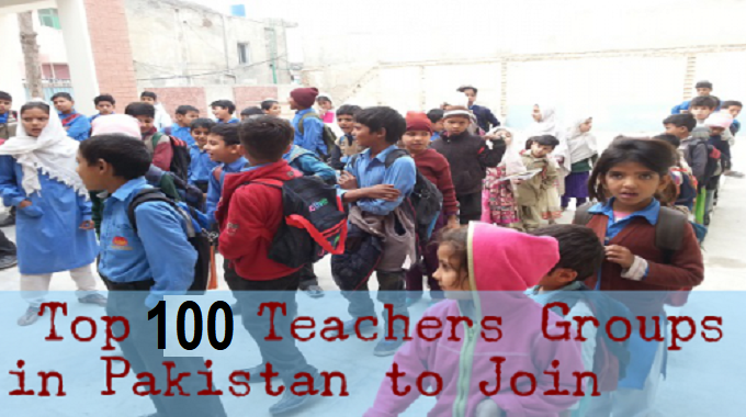 Top 100 Teacher Facebook Groups in Pakistan to Join