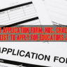 Download Application Form NOC Form and 32-A Challan Form