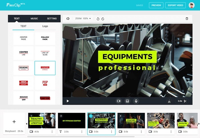 FlexClip, An Online Video Editor to Create Videos in Three Steps