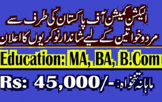 57 Jobs in Election Commission ECP of Election Officer for Graduates and Masters