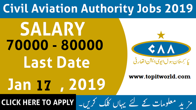 300+ Civil Aviation Authority CAA Jobs June 2019  for Middle to Masters