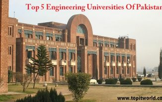 Top 5 Engineering Universities of Pakistan
