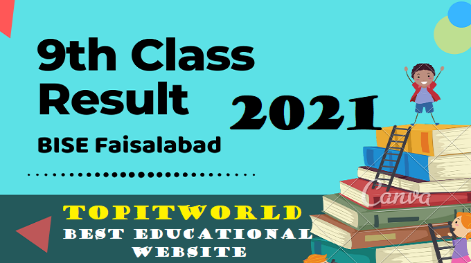 BISE Faisalabad 9th Class Result 2021