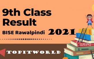BISE Rawalpindi 9th Class Result 2021