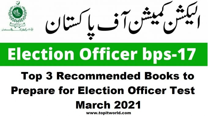 Top 3 Recommended Books for Election Officer Test March 2021