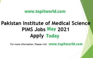 PIMS Hospital 135 Jobs Vacancies 2021